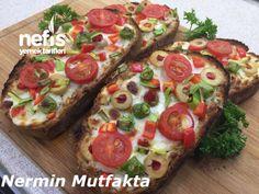 Kahvaltılık Sarmısaklı Ekmek Dilimleri