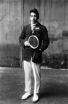 """Jean René Lacoste (French pronunciation: [ʒɑ̃ ʁəne laˈkɔst]; 2 July 1904 – 12 October 1996) was a French tennis player and businessman. He was nicknamed """"the Crocodile"""" by fans because of his tenacity on the court; he is also known worldwide as the creator of the Lacoste tennis shirt, which he introduced in 1929."""