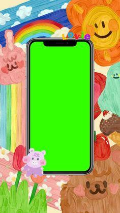 Graphic Wallpaper, Wallpaper Iphone Cute, Aesthetic Iphone Wallpaper, Galaxy Wallpaper, Cartoon Wallpaper, Cute Wallpapers, Overlays Cute, Polaroid Template, Instagram Frame Template