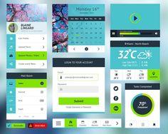 Spring UI - Free UI Kit