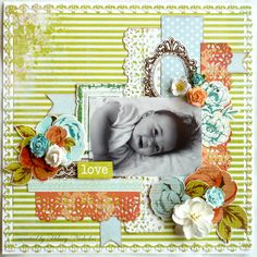 Layout kit created with Kaisercraft Marigold, by Hilary Nicholas Baby Scrapbook, Scrapbook Pages, Page Layout, Marigold, Scrapbooking Layouts, Project Life, Card Making, Paper Crafts, Young Children