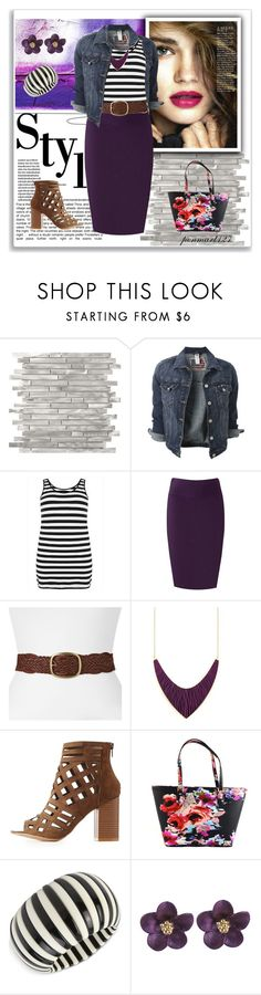 """Styled It My Way #Plussize"" by penny-martin ❤ liked on Polyvore featuring Tara Lynn, SONOMA Goods for Life, Charlotte Russe, Kate Spade and INC International Concepts"