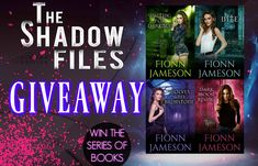 From the shadow files author Fionn Jameson -  2 ebook copies of an omnibus from Blood Martyr series That's right two winners get the entire collection.