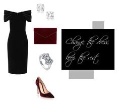 """""""change the dress, keep the rest #3"""" by belen-cool-look ❤ liked on Polyvore featuring BERRICLE, Rebecca Minkoff, Gianvito Rossi and Emilio De La Morena"""