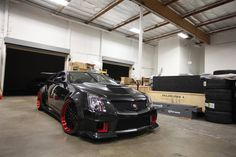 a Widebody Cadillac CTS-V.