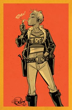 БАК ДЕВУШКИ Comic Books Art, Comic Art, Tank Girl Comic, Drive A Tank, Feminist Men, Character Design Girl, Woman Sketch, Clothing Sketches, Jamie Hewlett