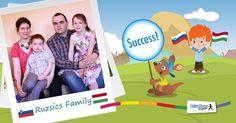 Familia Ruziscs locuiește în Districtul Zala, Ungaria, aproape de granițele Sloveniei, dar și ale Austriei. Milan este economist și lucrează în hotelul familiei sale, iar soția sa, Dr. Ildikó Héjja este avocat. Ei au 3 copii: Dorka, 6 ani, Gergő, 3 ani, și bebelușul Bálint care s-a născut pe 1 aprilie 2016. Tatăl este convins Helen Doron, Education English, Slovenia, Hungary, Family Guy, Success, Teacher, Student, Reading