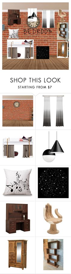 """Ideal bedroom"" by wonder-woman3113 ❤ liked on Polyvore featuring interior, interiors, interior design, home, home decor, interior decorating, DutchCrafters and bedroom"