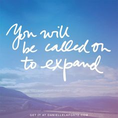 ....expand.