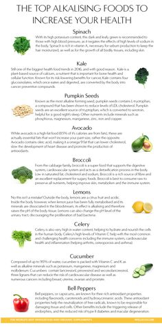 The top alkalising foods to increase your health!
