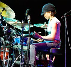 Cindy Blackman,a complete and thorough musician