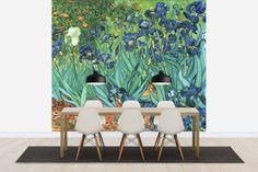 Van Gogh, Vincent - Irises, Photowall beautiful colors