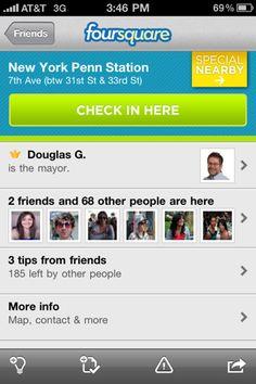 #foursquare #iphone