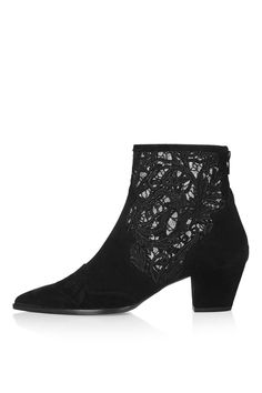 ALEGRA Lace Ankle Boots