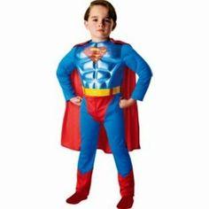 KIDS Superman Dress Up Outfit - 3-4 Years was £22.99 NOW £5.99 at Argos. #flashbargains   #GRATkids   #GRATboys