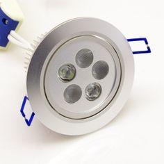 15W RGBW LED Einbaustrahler Dimmbar, steuerbar
