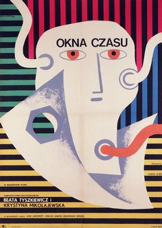 Windows of Time, Polish Movie Poster Eryk Lipinski 1970