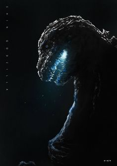 #Godzilla Resurgence art by Noger Chen