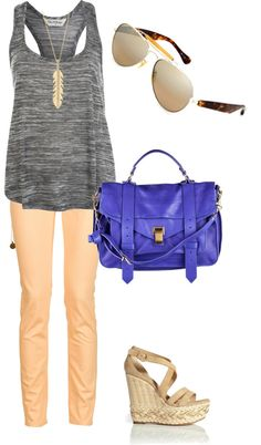 Colored Bags, created by sarahiskarda on Polyvore