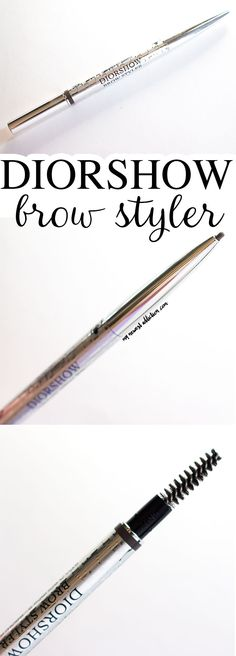 Dior Diorshow Brow Styler Review and Swatches - My Newest Addiction