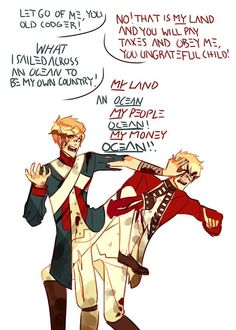 American Revolution Hetalia version, only funny version of this ever. It doesn't break my heart for once!