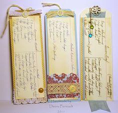 Recipe Bookmarks 3 w 70