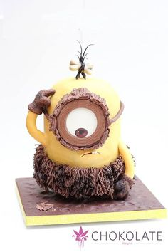 Caveman Minion - Chokolate Designs