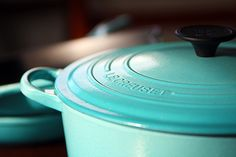 Le Creuset Dutch Ovens. Every woman's dream! (Or just  mine?!?) Beautiful, versatile.   CC photo courtesy of Berritt the Good Sheep on Flikr  #afflink