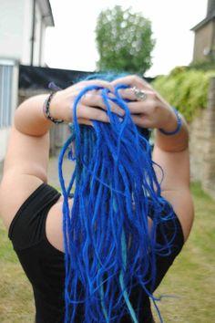 blue dreadlocks Dreadlocks @DreadStop