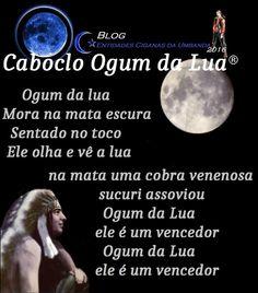 Entidades Ciganas da Umbanda (Clique Aqui) para entrar.: CABOCLO OGUM DA LUA