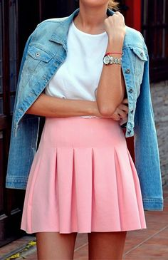 The Perfect Pink Skirt | Hello Fashion