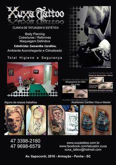Melhor estúdio de tatuagem da região. Venha conferir