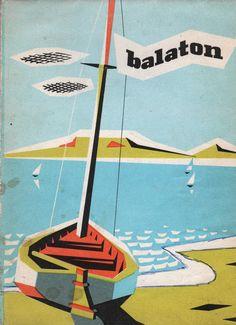 «Cover for tourist map of Lake Balaton, Hungary, 1967».
