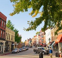 On the Galena River in northwest Illinois, this town's century-old buildings now house shops and restaurants. Beyond Main Street, water sports, golf and other active outings await.