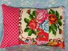 rose pillow - finally!