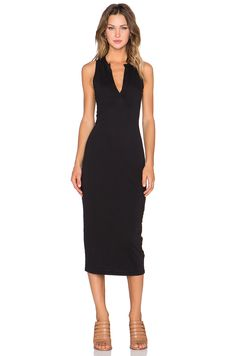James Perse Open Henley Tank Dress