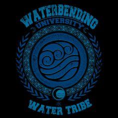 Waterbending University Women's Tank Top
