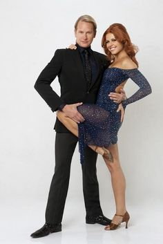 DWTS Season 13 Cast Celebrity Carson Kressley and Professional Anna Trebunskya