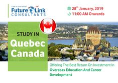 Study In Quebec Canada Education Overseas Education Career