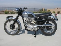 1956 Triumph TR6 Trophy Classic Motorcycle Pictures