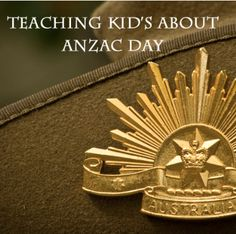 Teaching Children about ANZAC Day
