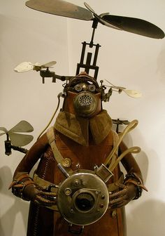 Steampunk - Stephane Halleux by Shamus O'Reilly, via Flickr