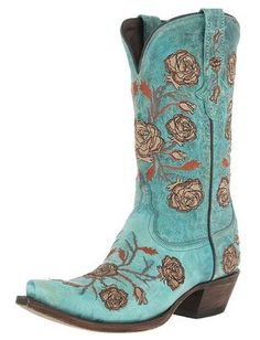girly cowgirl boots | Lady-Like 1883 by Lucchese N8650 5/4 Western ...