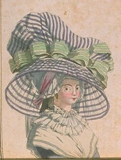 Collet necklaces in Regency Fashion Plates 18th Century Clothing, 18th Century Fashion, Costume Français, Costumes, Rococo Fashion, Types Of Hats, 18th Century Costume, Hat Hairstyles, Historical Clothing