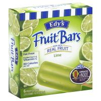 Product: Edy's fruit bars - Lime popsicles. Feingold diet -- are these approved yet?