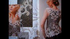 Crochet patterns Fashion Magazine, Zhurnal Mod 570 Autumn - Winter 2013