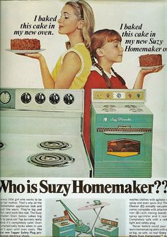 Suzy Homemaker ad from American Home, December 1966