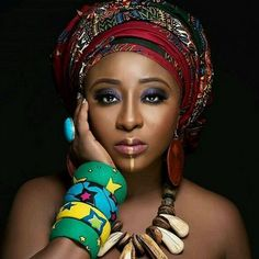 Ini Edo looks simply stunning in African inspired regalia photo . Latest Nigeria News, News In Nigeria, African Women, African Fashion, African Beauty, Ethnic Fashion, Hi Gorgeous, Simply Beautiful, Wedding Movies