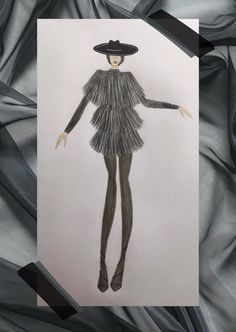 #fashion #sketches #sketching #illustration Fashion Sketches, Sketching, Illustration, Art, Art Background, Fashion Sketchbook, Kunst, Illustrations, Performing Arts