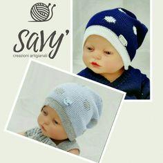 SaVy` creazioni artigianali... Cappellino jacquard in puro cotone